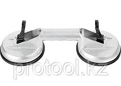 Стеклодомкрат алюминиевый двойной// MATRIX