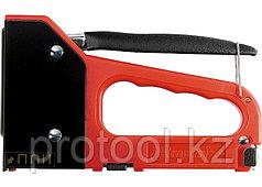 Степлер мебельный 4-функциональный пластиковый, тип скобы:53, 28, 300, 500, 6-14 мм// MATRIX MASTER
