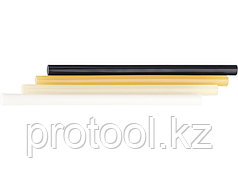 Стержни клеевые, 11 мм,  L-300 мм, 34 шт, белый// MATRIX