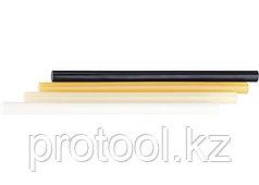 Стержни клеевые, 11 мм,  L-300 мм, 34 шт, жёлтый// MATRIX