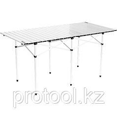 Стол складной алюминиевый, 1400x700x700 мм//PALISAD Camping