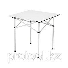 Стол складной алюминиевый, 700x700x700 мм//PALISAD Camping