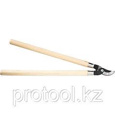 Сучкорез прямого реза, 640 мм, деревянные рукоятки// PALISAD