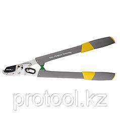 Сучкорез прямого реза 530 мм, 2-рычажный механизм, нейлоновые рукоятки// PALISAD LUXE