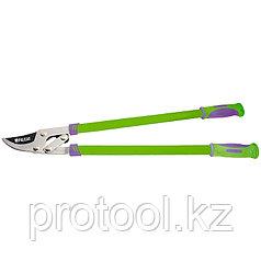 Сучкорез, 750 мм, прямой рез, рычажный механизм, двухкомпонентные рукоятки// PALISAD
