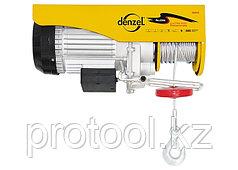 Тельфер электрический, 0,5 т, 900 Вт// DENZEL