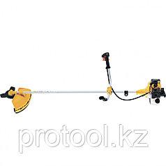 Триммер бензиновый GT-430, состоит из 2 частей, 1,3 кВт, 42,7 см3 (диск+катушка)//DENZEL