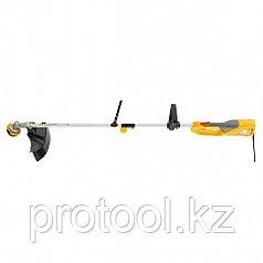 Триммер электрический TE-1200, 1200 Вт, 380 мм, катушка+диск, разборная штанга// Denzel