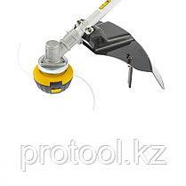 Триммер электрический TE-1200, 1200 Вт, 380 мм, катушка+диск, разборная штанга// Denzel, фото 3