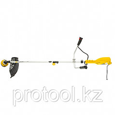 Триммер электрический TE-1400, 1400 Вт, 420 мм, катушка+диск, разборная штанга// Denzel