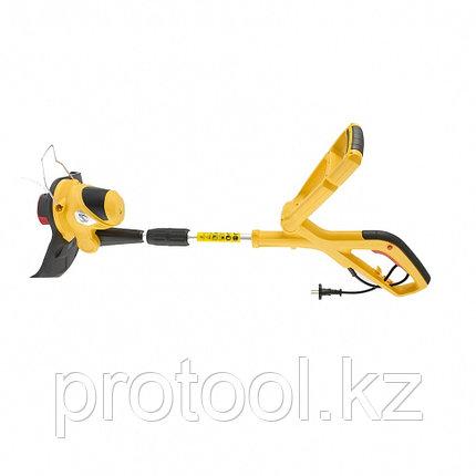 Триммер электрический TE-550, 550 Вт, 300 мм, катушка автомат, телескопическая штанга// Denzel, фото 2