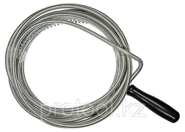 Трос для прочистки труб, L - 3 м, D - 6 мм// СИБРТЕХ, фото 2