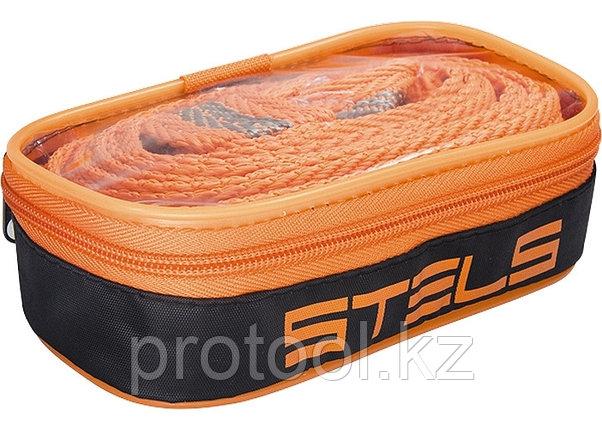 Трос буксировочный 5 тонн, 2 крюка, сумка на молнии // STELS Россия, фото 2