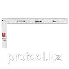 Угольник, 450 мм, алюминиевый, литой// MATRIX