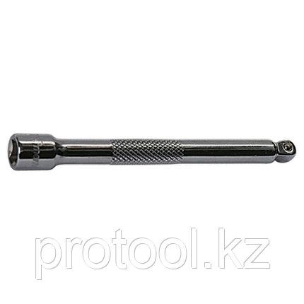"""Удлинитель, 125 мм, 1/2"""", CrV, полированный хром, для работ в труднодост. местах// MATRIX MASTER, фото 2"""