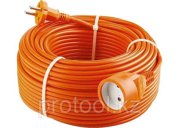 Удлинитель-шнур силовой, 50м, 1 розетка// Stern, фото 2