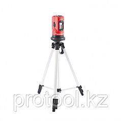 Уровень лазерный, 100 мм, штатив 1260 мм, самовыравнивающийся  //MATRIX