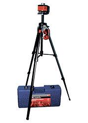 Уровень лазерный, 100 мм, штатив 1300 мм, крутящ. голова ротац., набор в пласт.кейсе// MATRIX MASTER