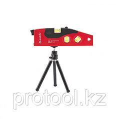 Уровень лазерный, 180 мм, 220 мм штатив, 4 глазка// MATRIX