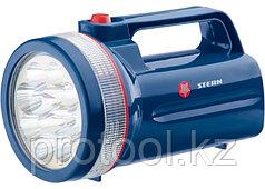 Фонарь поисковый светодиодный, пластиковый корпус,30 часов непрерывной работы, 12 LED,4хLR20// Ster