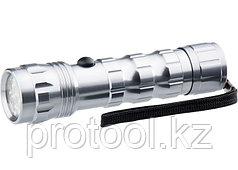 Фонарь светодиодный, алюминиевый корпус, влагозащищённый, 12 LED, 3хААА// Stern