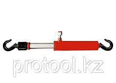 Цилиндр гидравлический, 10 т, стяжной с крюками// MATRIX