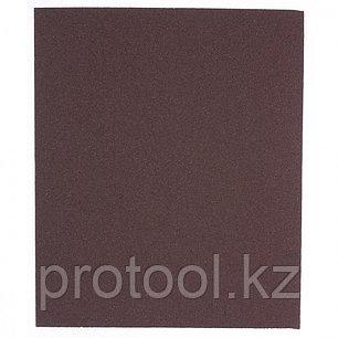 Шлифлист на тканевой основе, P 80, 230 х 280 мм, 10 шт., водостойкий// MATRIX, фото 2
