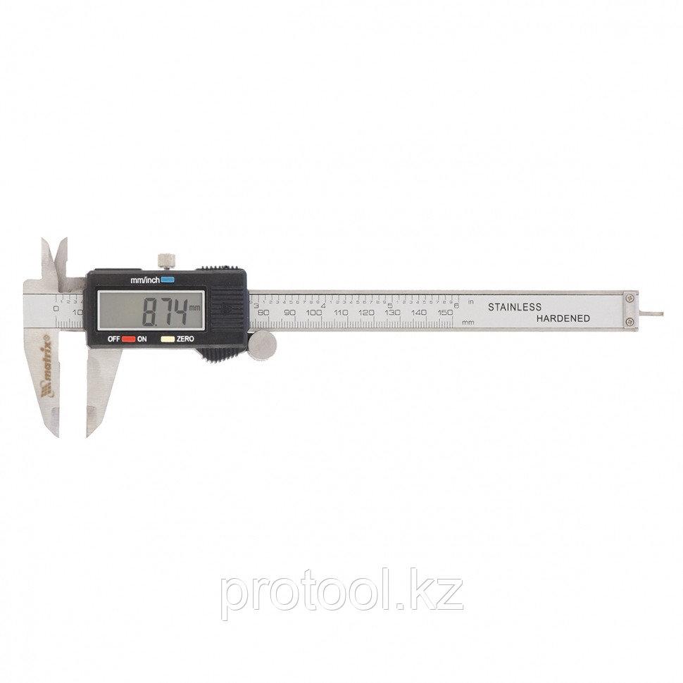 Штангенциркуль, 150 мм, электронный// MATRIX - фото 1