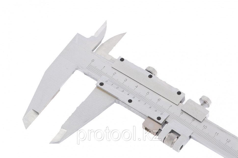 Штангенциркуль, 300 мм, цена деления 0,02 мм, металлический, с глубиномером// MATRIX - фото 2