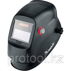 Щиток защитный лицевой (маска сварщика) с автозатемнением Optimal // MATRIX
