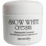 Осветляющий и увлажняющий крем для лица Secret Key Snow White Cream,50мл, фото 2