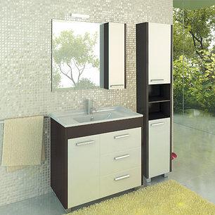 """Шкаф-колонна """"Модена-35"""" белый, фото 2"""