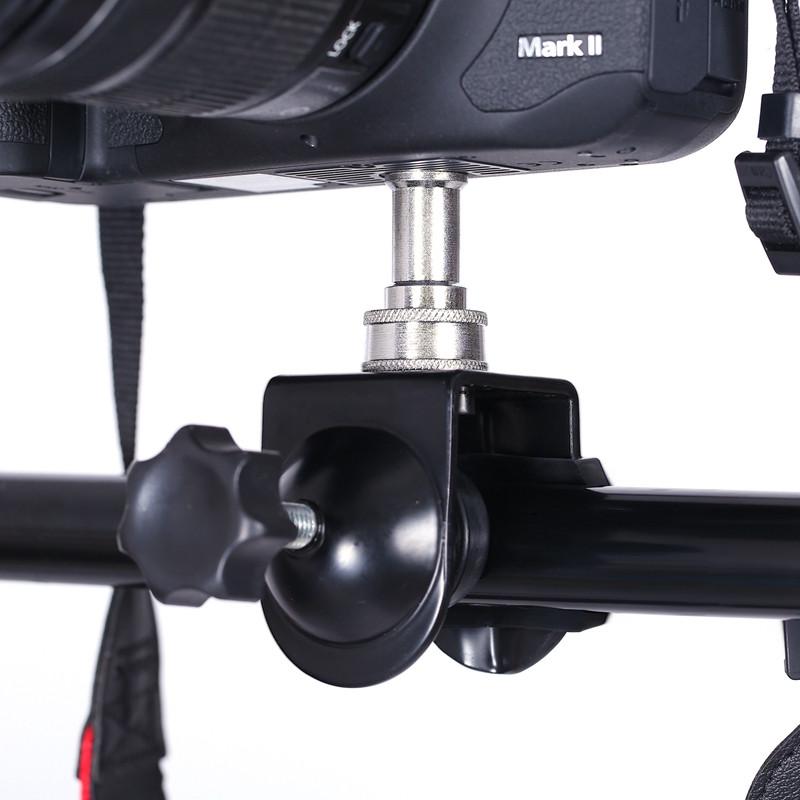 Струбцина - зажим для крепления фотоаппарата и студийных аксессуаров