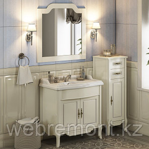 """Зеркало """"Версаль-90"""" слоновая кость, фото 2"""