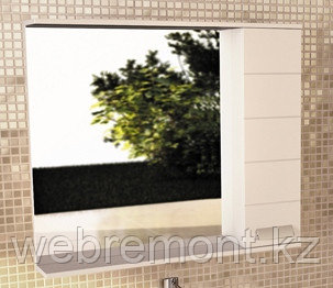 "Зеркало-шкаф ""Модена-90"" белый, фото 2"