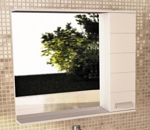 """Зеркало-шкаф """"Модена-90"""" белый"""