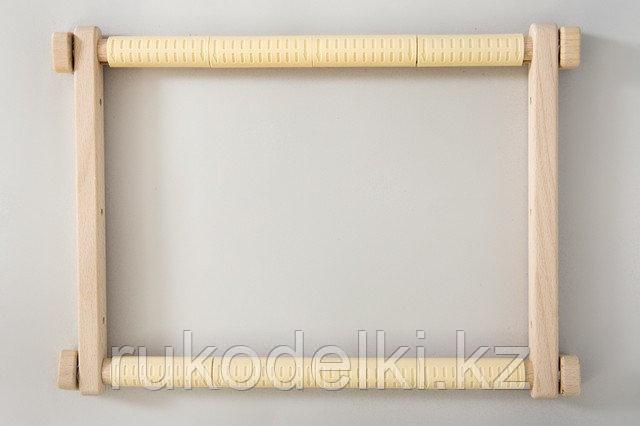 Пяльцы гобеленовые Арабеска с клипсами, 30х48 см
