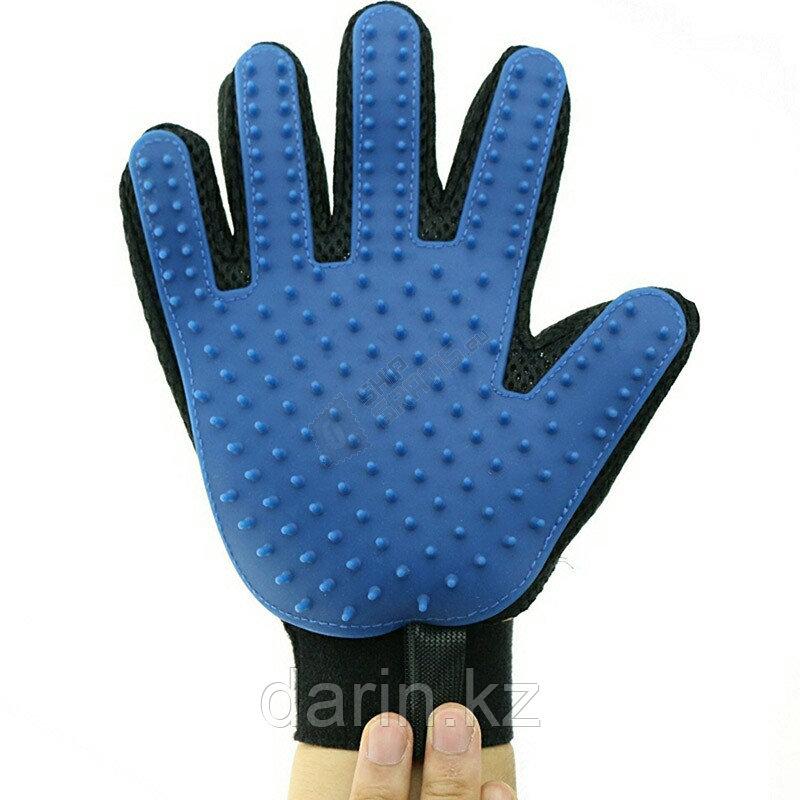 Перчатка для чистки животных true touch - фото 2