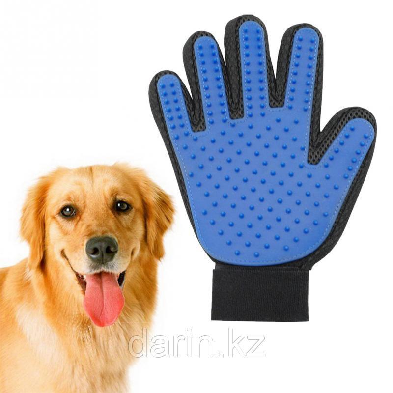 Перчатка для чистки животных true touch - фото 5