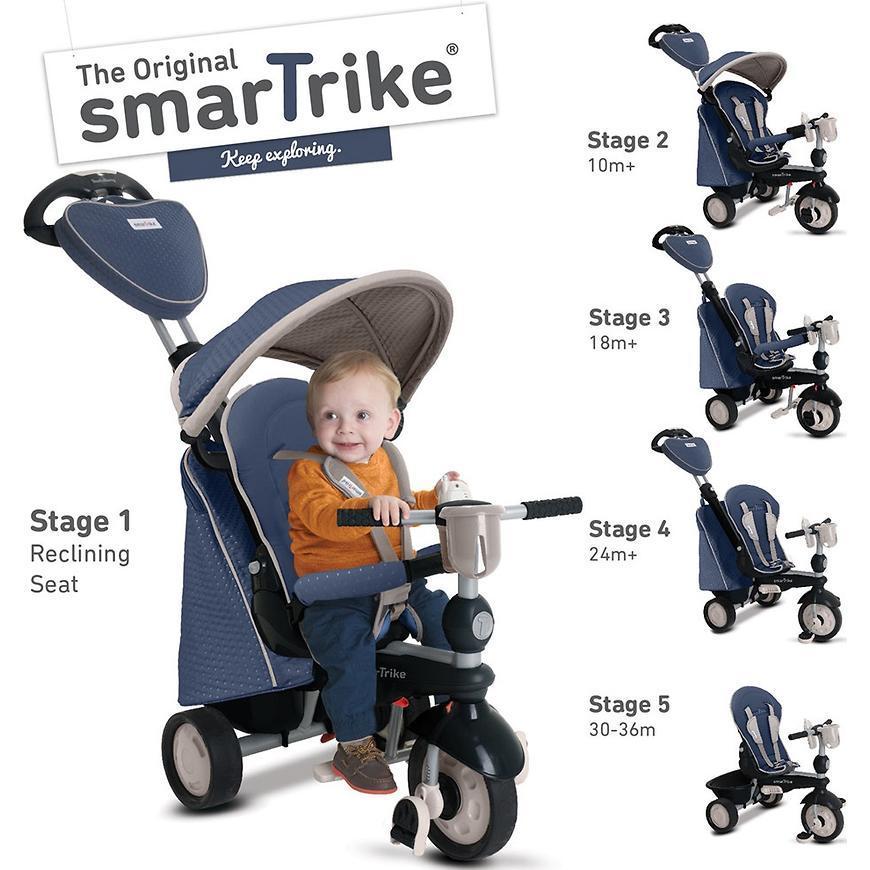 Велосипед Smart Trike 5в1 Recliner Infinity в ассортименте