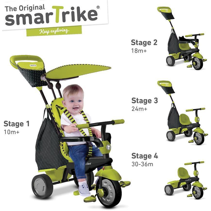 Велосипед Smart Trike 4в1 Glow в ассортименте
