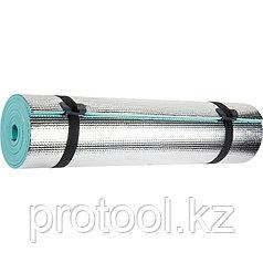 Коврик 1800х500х6 мм, фольгированная поверхность// PALISAD
