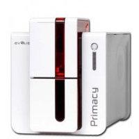 Сублимационный принтер для печати на пластиковых картах, модель эксперт, USB, Ethernet, красный.