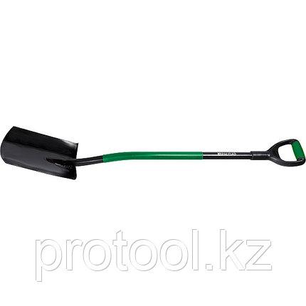 Лопата универсальная, металлический черенок, заостренная// PALISAD, фото 2