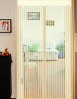 Магнитная противомоскитная сетка для окон и дверей SwissLine MN-8 100*220 см (бежевая) (001)