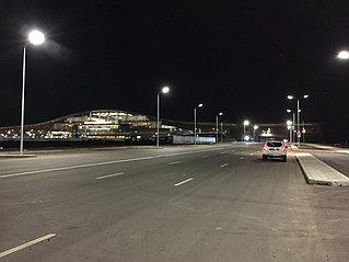 Освещение улицы Жумекена Нажимиденова 1