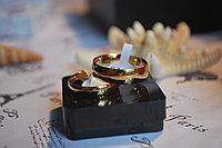"""Обручальные кольца из титана """"Классика"""", фото 1"""