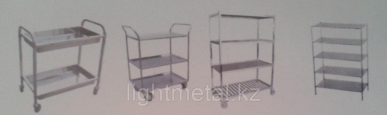 Столы и стеллажи из нержавеющей стали