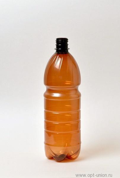 Пластиковая бутылка ПЭТ, Ёмкость: 1,5л.