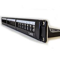 """LinkBasic Коммутационная панель 5e кат., UTP 19"""", 1U, 24хRJ45 наборная, с розеточными модулями"""